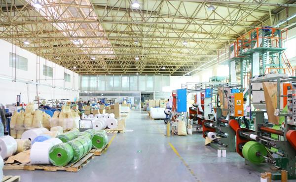 拥有全生物降解材料生产基地和相应配套的检测设备
